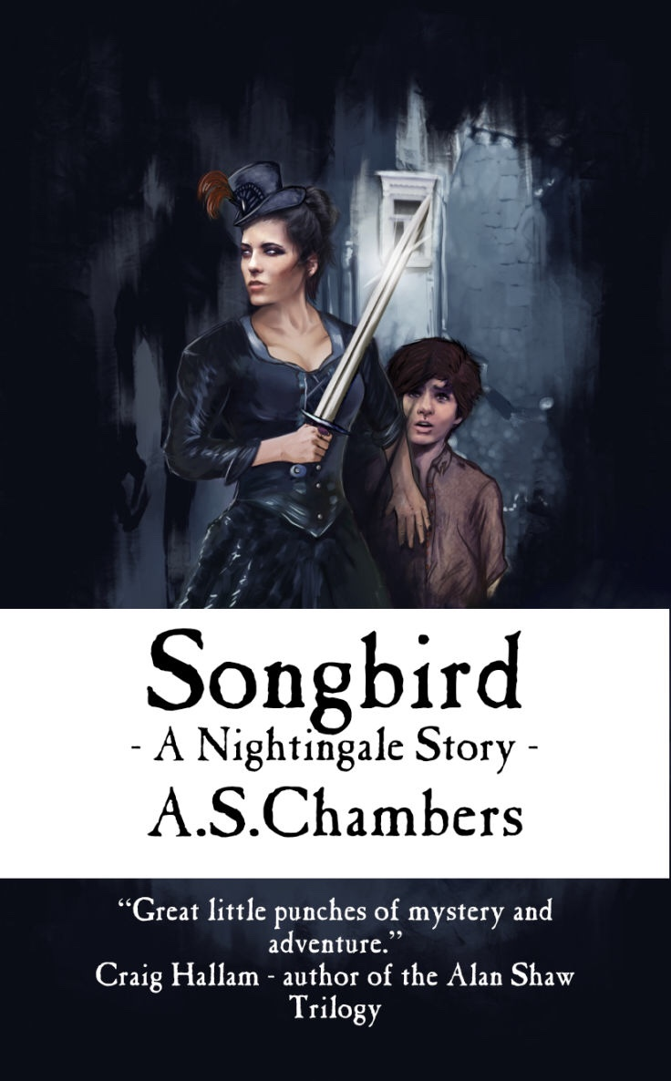 Songbird: A Nightingale Story by A.S. Chambers - Cover