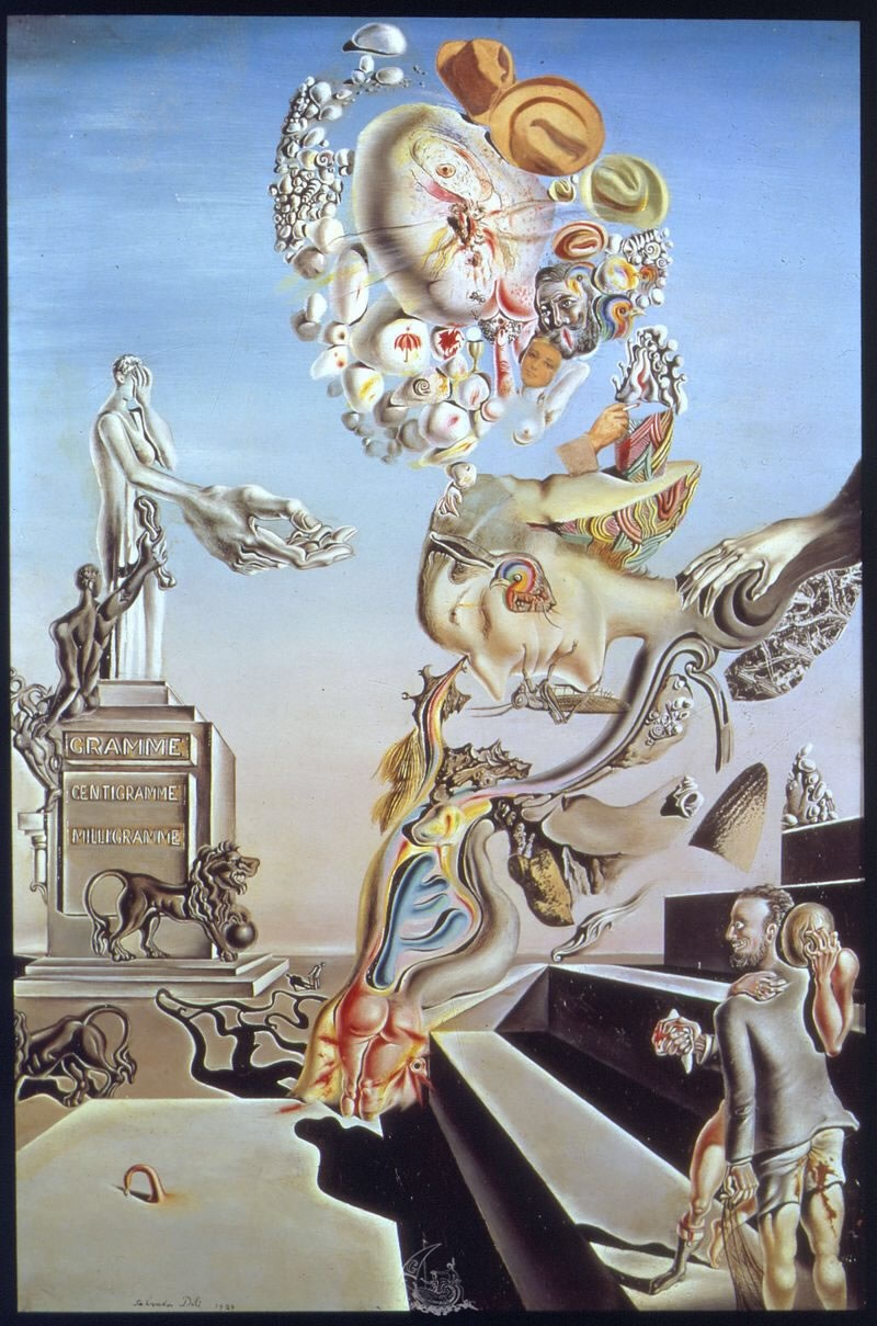 """""""The Lugubrious Game"""" (1929) by Salvador Dali"""