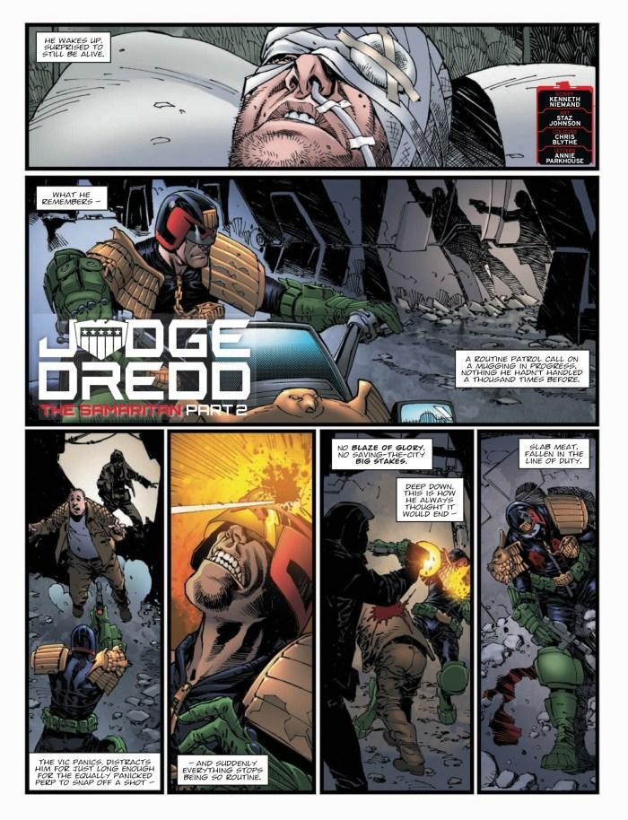 2000AD Prog 2137 - Judge Dredd