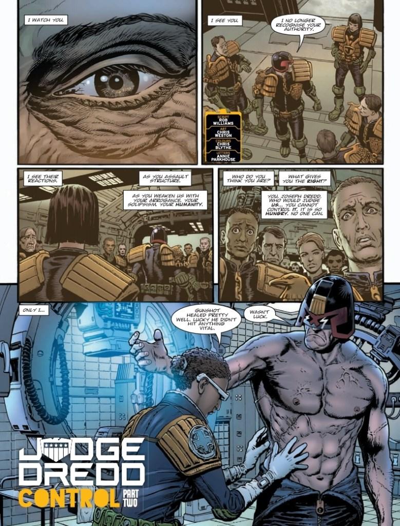 2000AD Prog 2142 - Judge Dredd