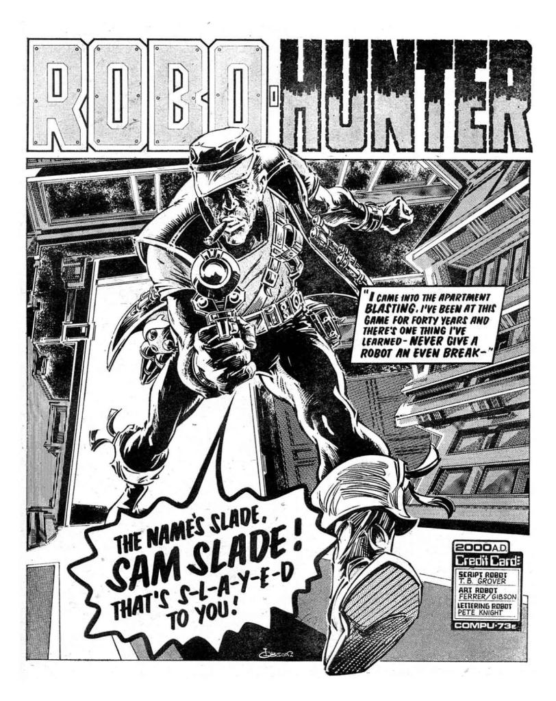 2000AD Prog 76 - Robo-Hunter