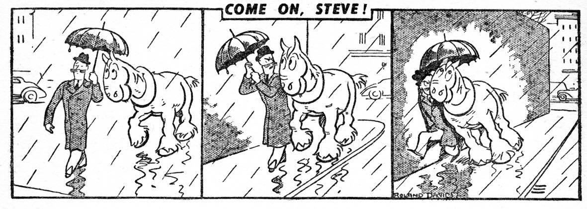 "Comic Creator Spotlight: Roland Davies and ""Come On, Steve!"""