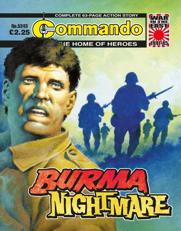 Commando 5243: Home of Heroes -Burma Nightmare