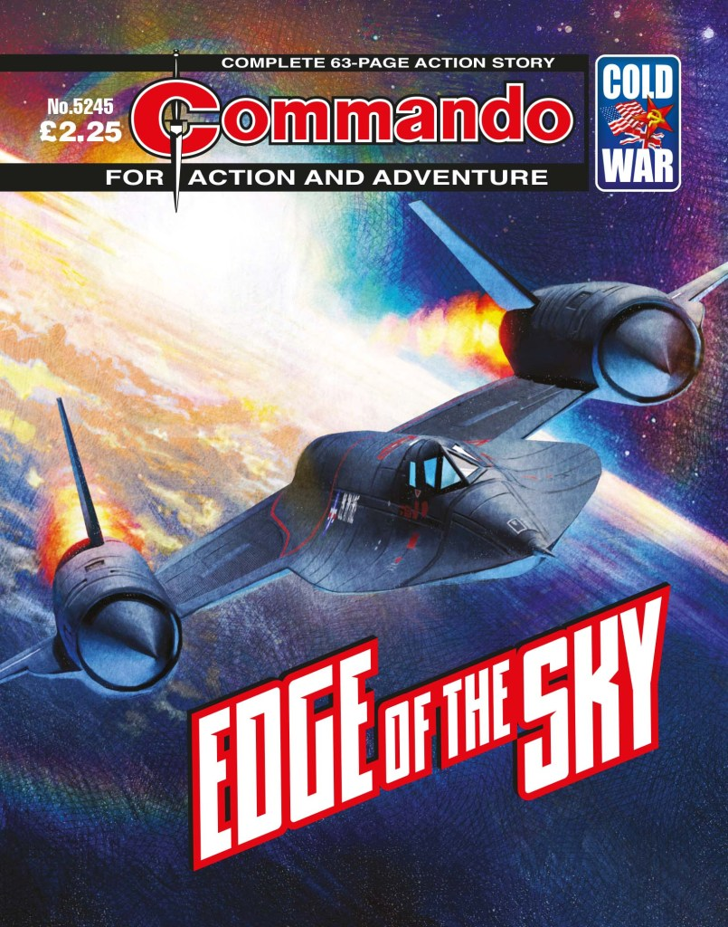 Commando 5245: Action and Adventure - Edge of the Sky