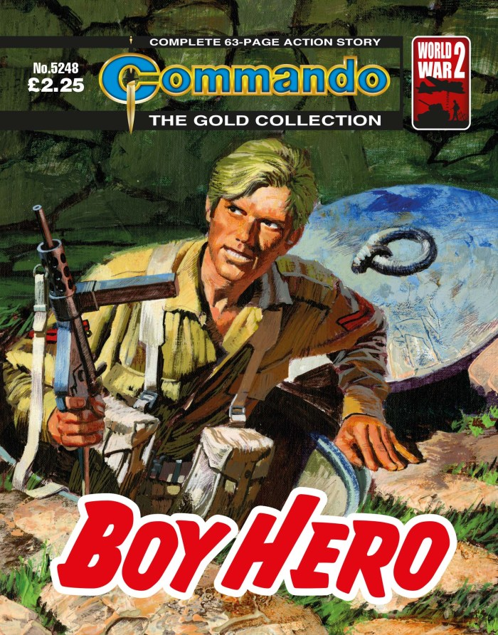 Commando 5248: Gold Collection - Boy Hero