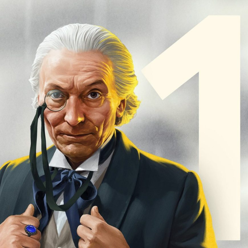 The First Doctor by Jeremy Enecio
