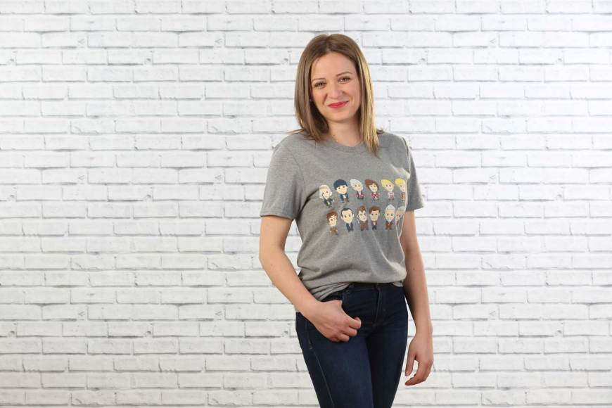 Hero Collector Doctor Who t-shirts 2019