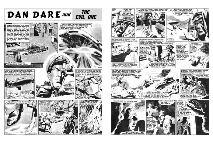 Dan Dare: The Evil One - Sample Art
