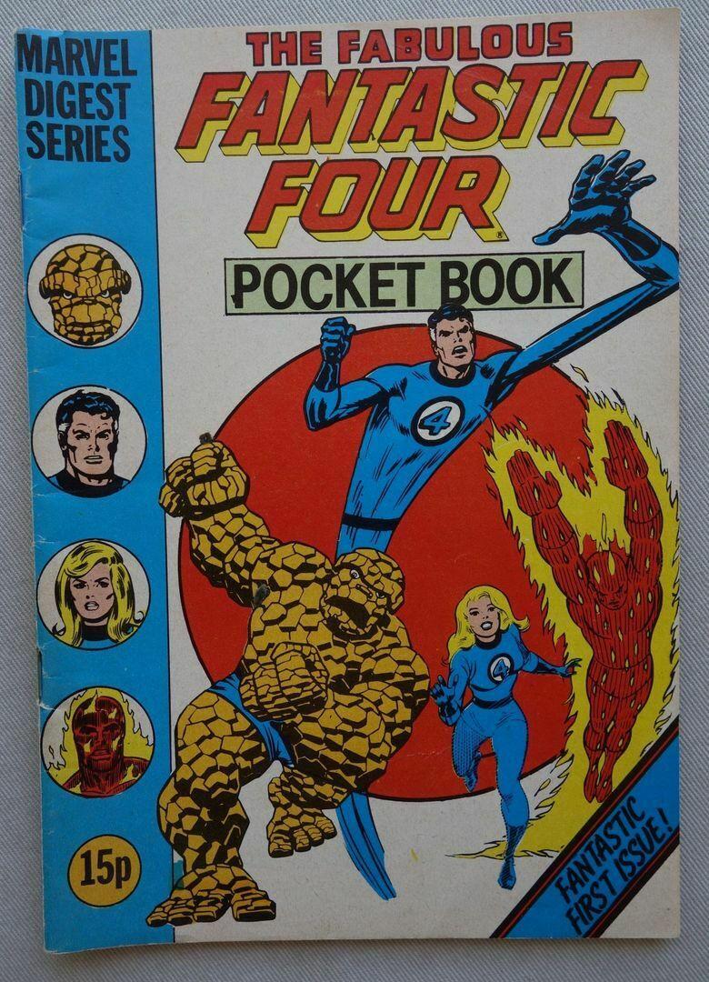 Fantastic Four Pocket Book #1 (Marvel Digest Series)