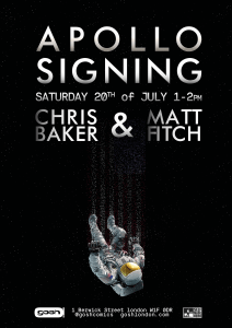 Gosh Apollo Signing Poster - 20th July 2019