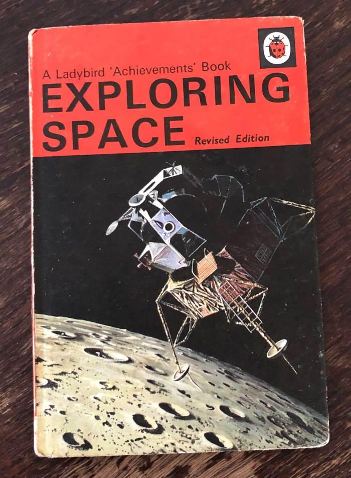 Ladybird Books - Exploring Space
