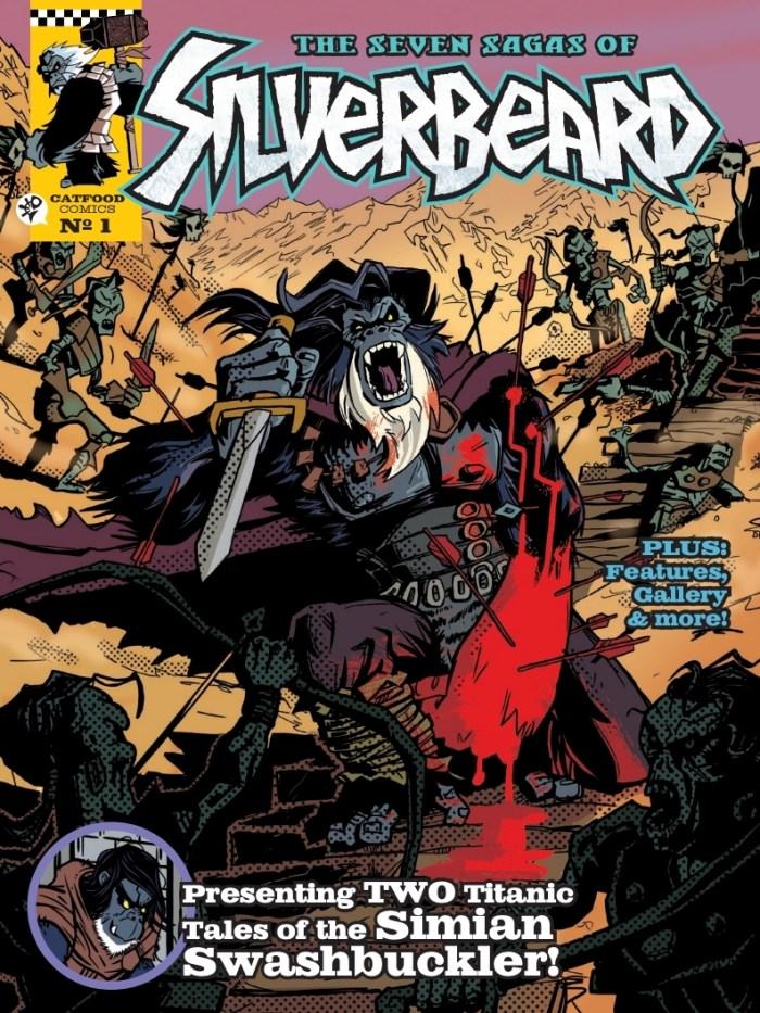 The Seven Sagas of Silverbeard - Cover
