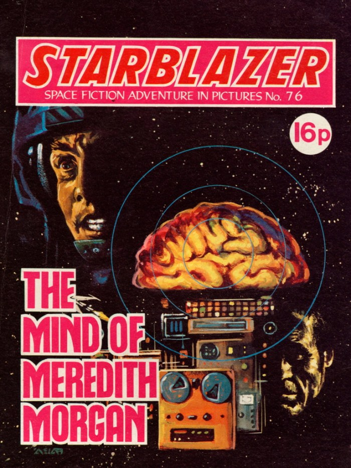Starblazer 76: The Mind Of Meredith Morgan