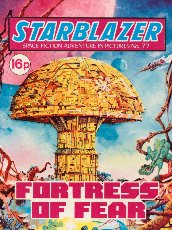 Starblazer 77: Fortress Of Fear