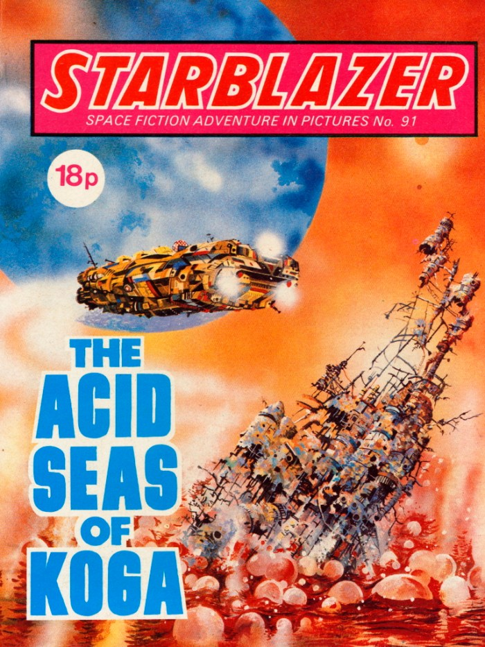 Starblazer 91: The Acid Seas of Koga