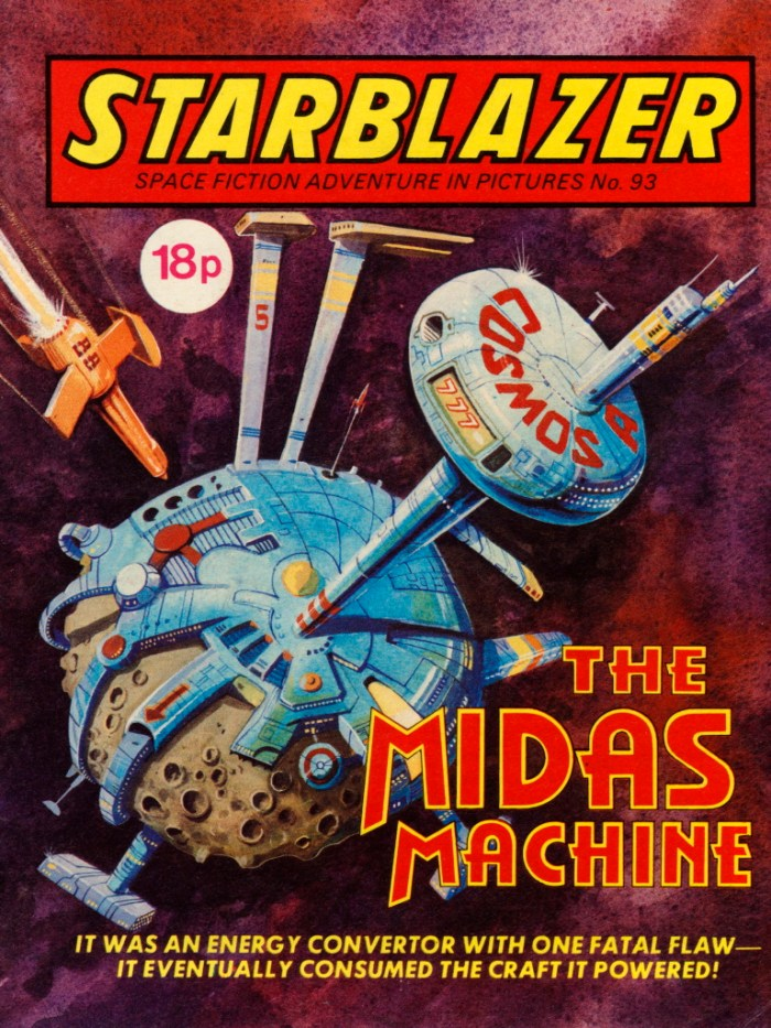 Starblazer 93: The Midas Machine