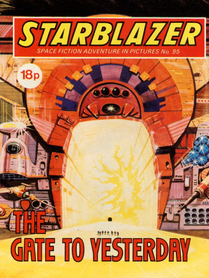 Starblazer 95: The Gate to Yesterday