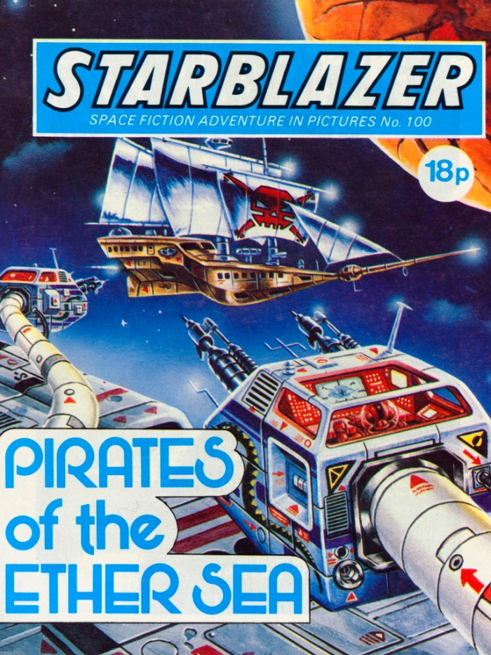 Starblazer 100: Pirates of the Ether Sea