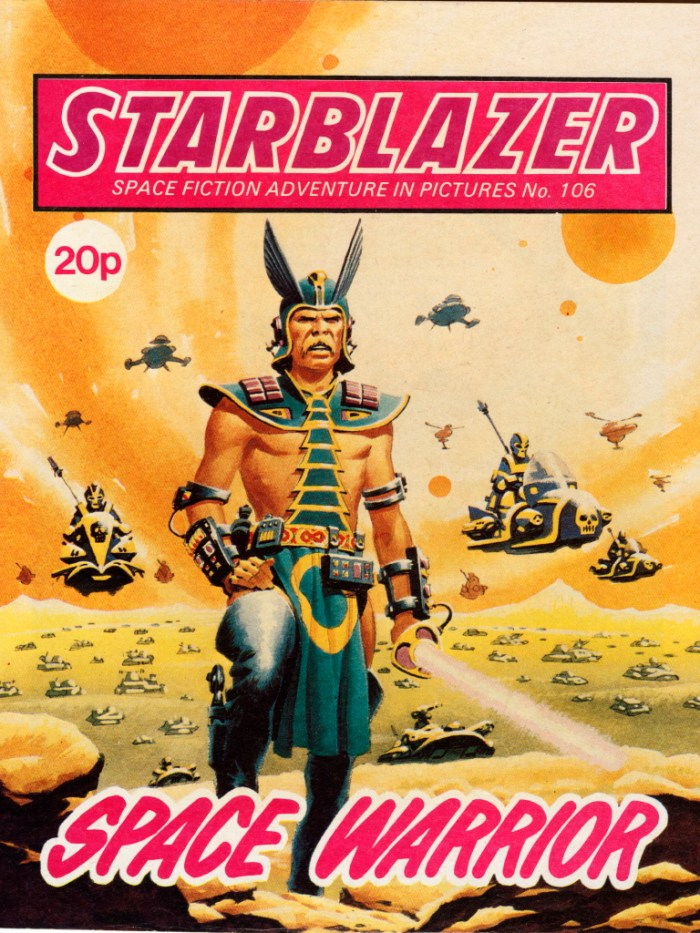 Starblazer 106: Space Warrior
