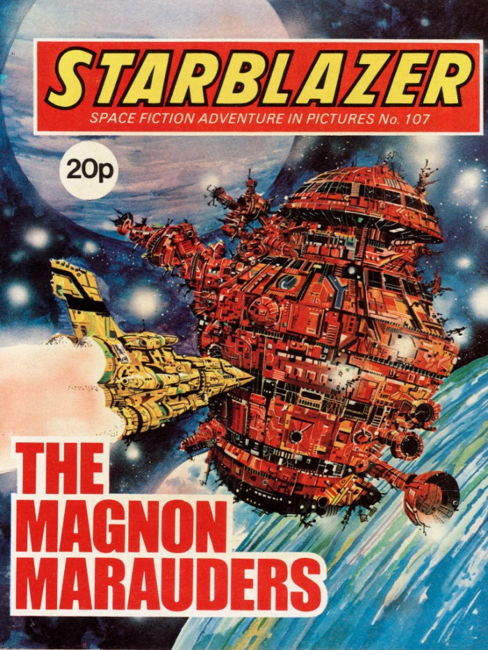 Starblazer 107: The Magnon Marauders
