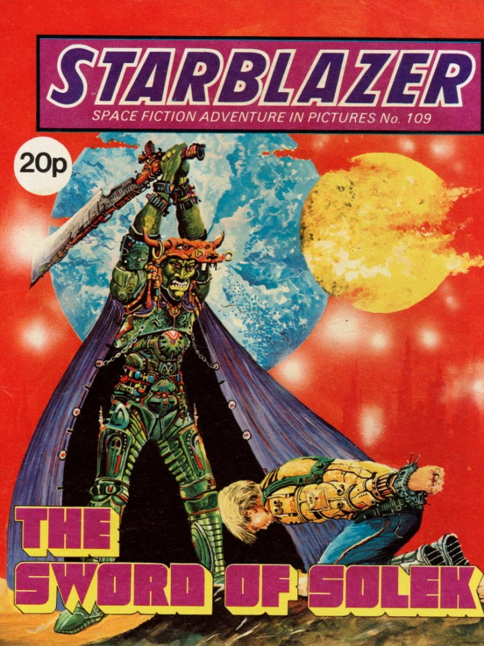 Starblazer 109: The Sword of Solek
