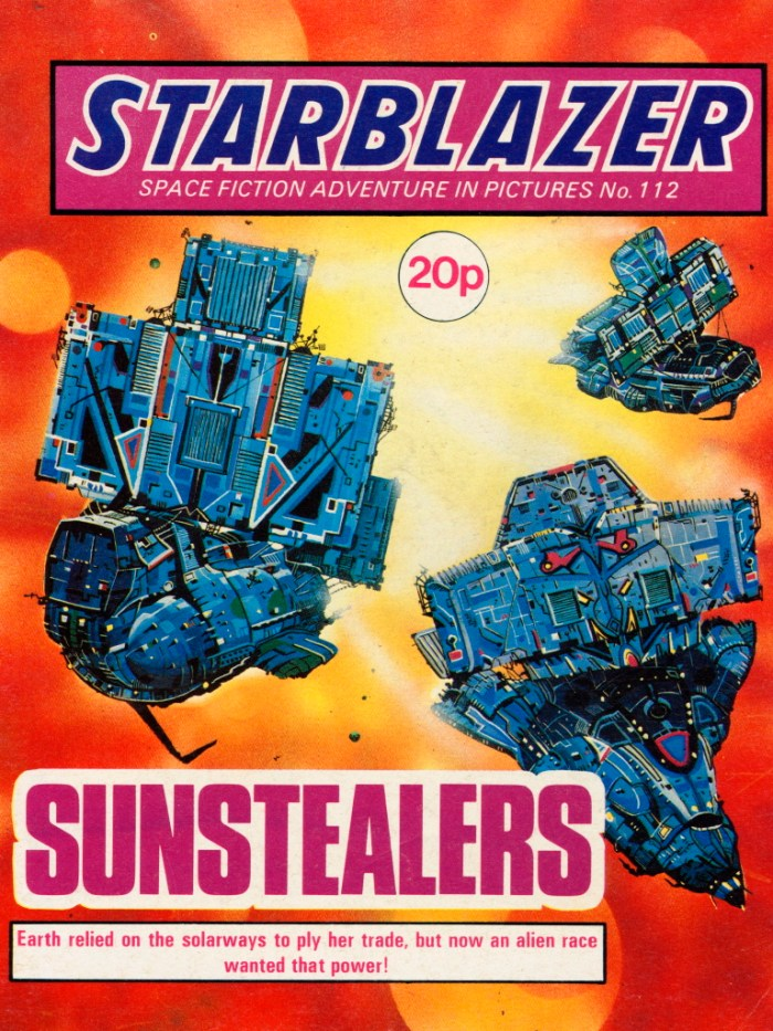 Starblazer 112: Sunstealers