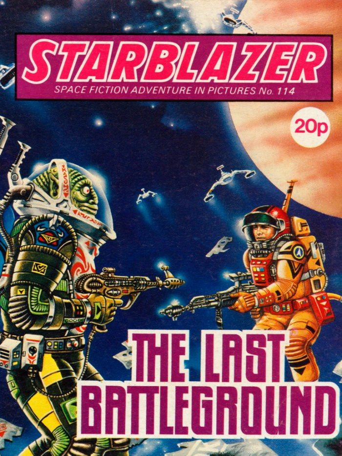 Starblazer 114: The Last Battleground