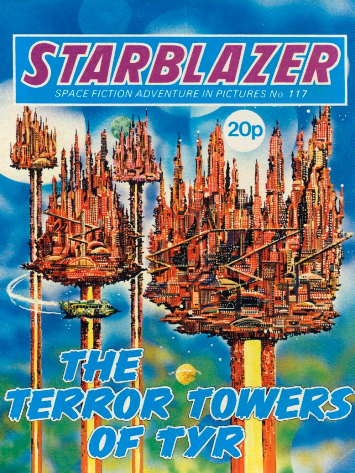 Starblazer 117: The Terror Towers of Tyr