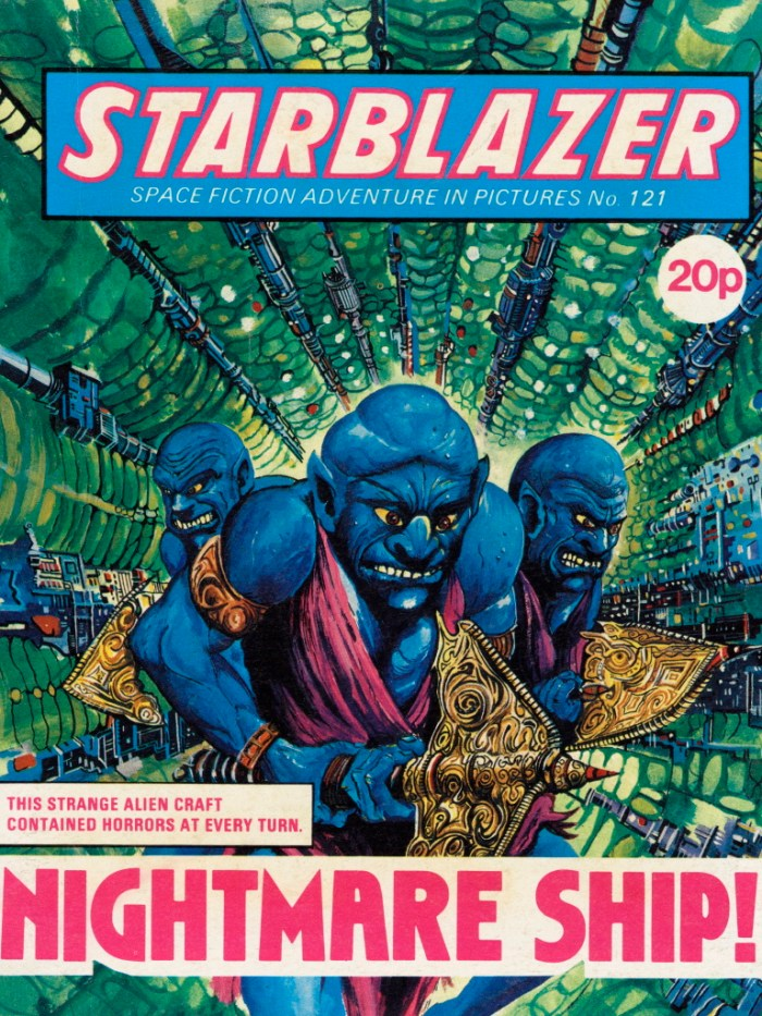 Starblazer 121: Nightmare Ship!