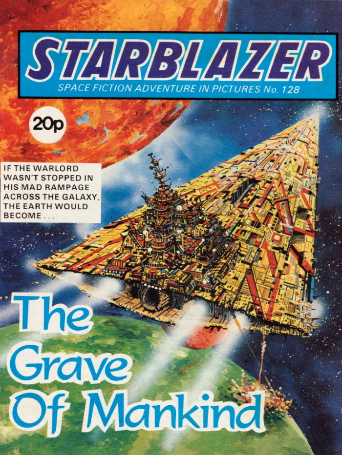 Starblazer 128: The Grave of Mankind