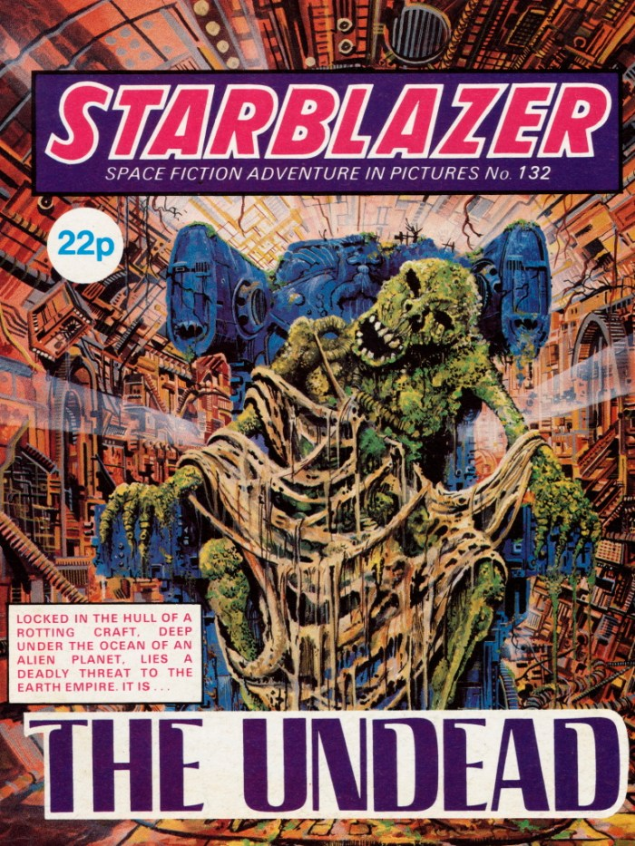 Starblazer 132: The Undead