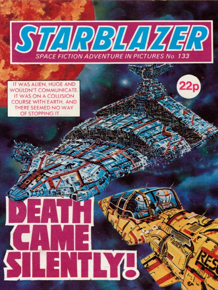 Starblazer 133: Death Came Silently!