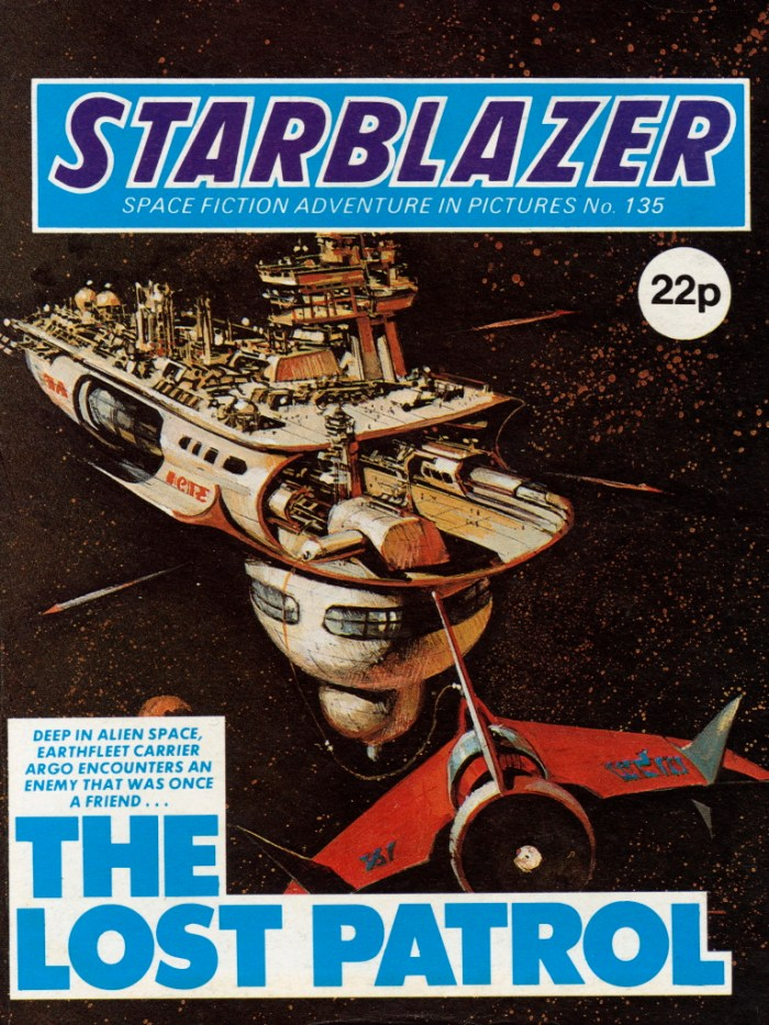 Starblazer 135: The Lost Patrol