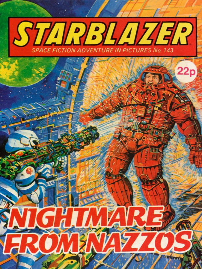 Starblazer 143: Nightmare from Nazzos