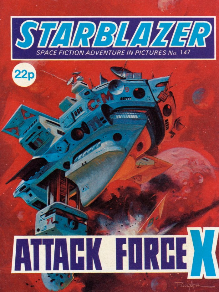Starblazer 147: Attack Force X