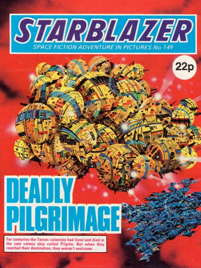 Starblazer 149: Deadly Pilgrimage