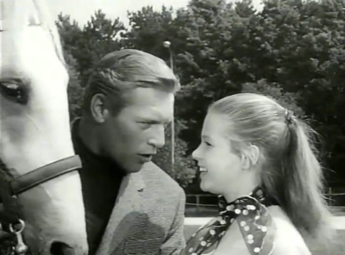 "A scene from ""The White Horses"""