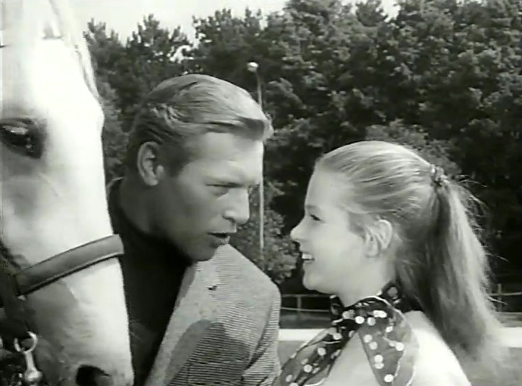 """A scene from """"The White Horses"""""""
