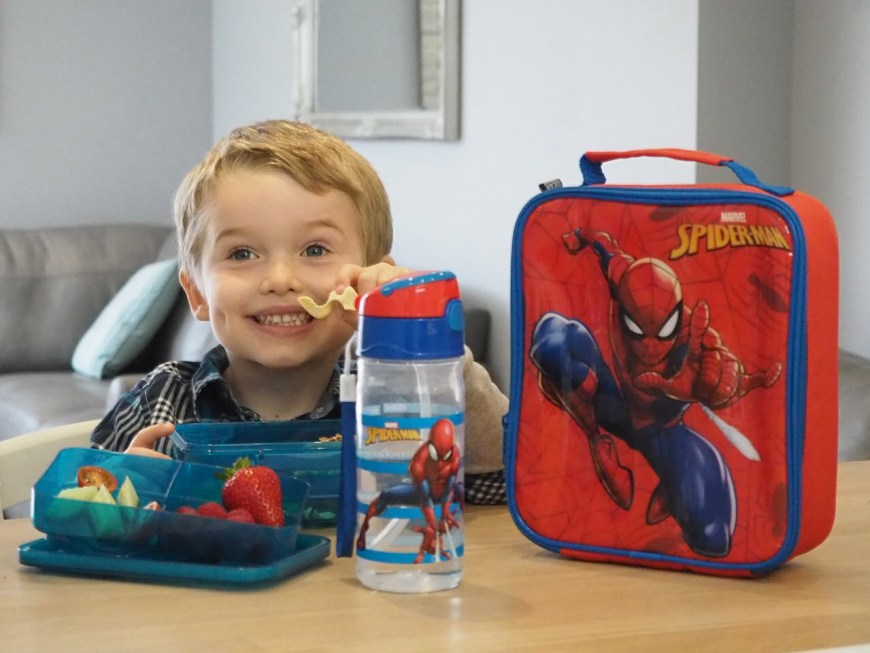 Polar Gear adds Spider-Man-inspired lunch bags to range