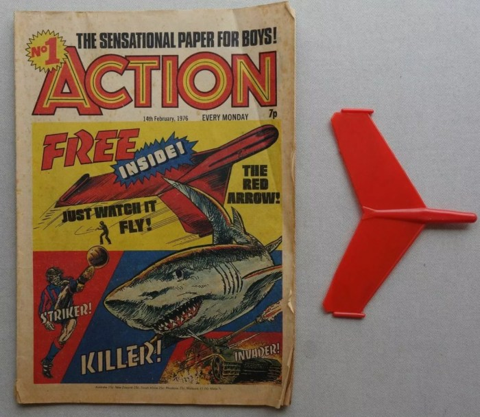 Action Issue 1 with free gift