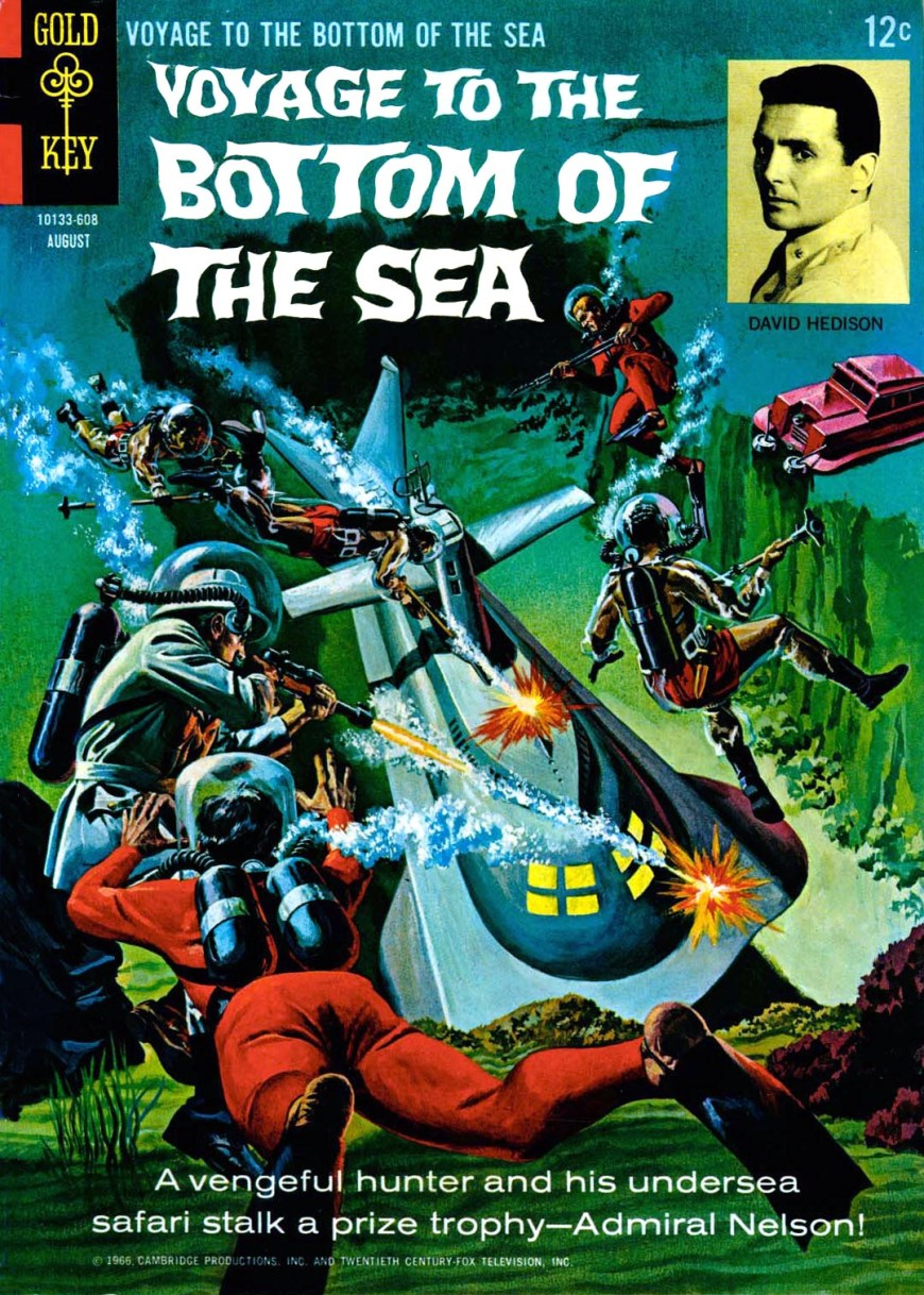Gold Key's Voyage to the Bottom of the Sea #5 - Cover by George Wilson