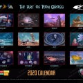 The Fantasy Worlds of Irwin Allen - 2020 Calendar by Ron Gross