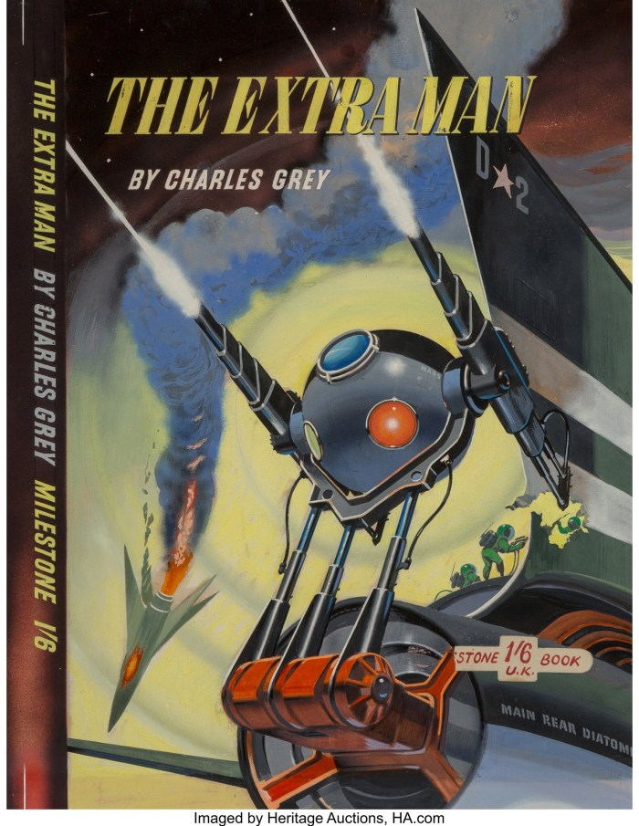 The Extra Man - art by Ron Turner