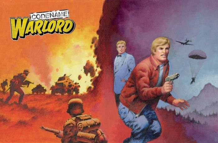 The Commando Issue 5255: Home of Heroes: Codename Warlord Wraparound Cover by Ian Kennedy - on sale Thursday 22nd August