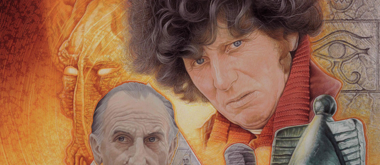 """Sneak Peek: Pete Wallbank's """"Pyramids of Mars"""" Doctor Who cover for INFINITY"""