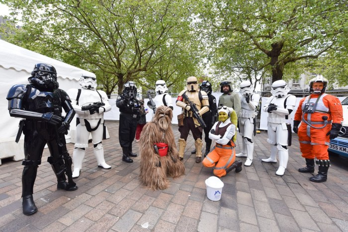 StarWars Cosplay at the 2019 Portsmouth Comic Con. Image: Portsmouth Comic Con