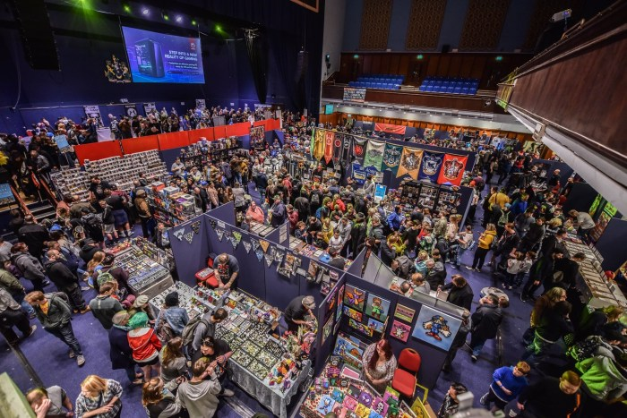 The main creator and dealers room at 2019 Portsmouth Comic Con. Image: Portsmouth Comic Con