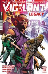 The Vigilant - Legacy - Cover