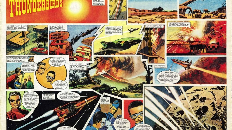"""Why Frank Bellamy was the perfect artist for """"Thunderbirds"""" in TV21"""