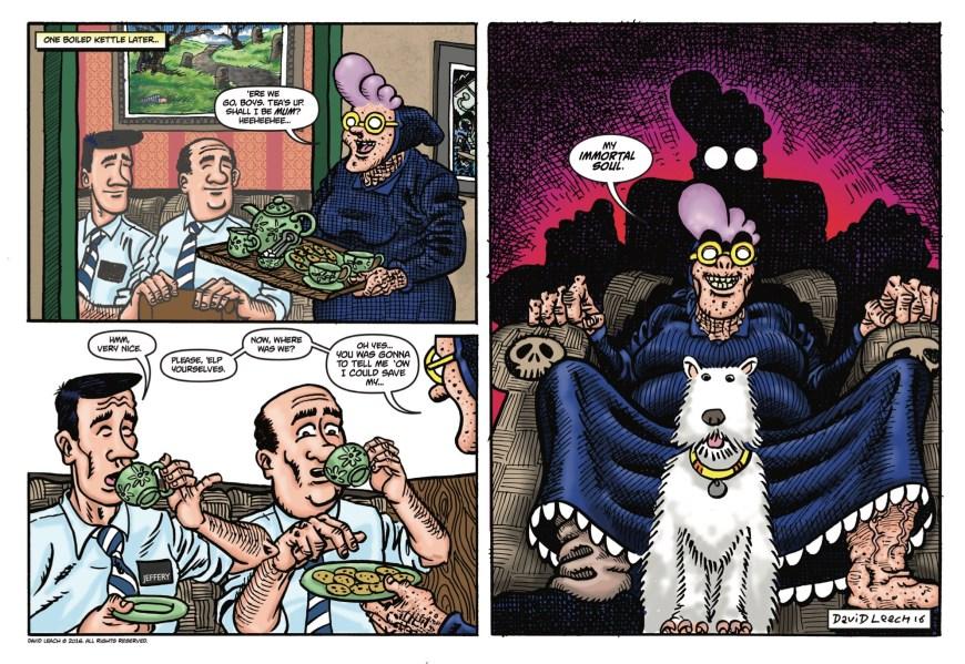 Psycho Gran Comic Capers Cavalcade #2